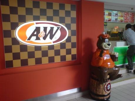 A&W @ Sg. Buloh Restoran Jejantas